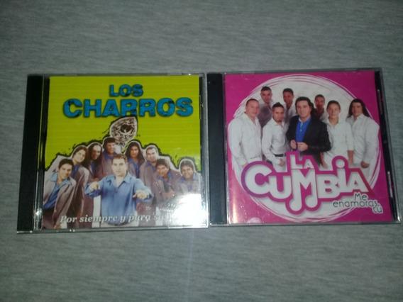 Lote Cds Charros Y La Cumbia