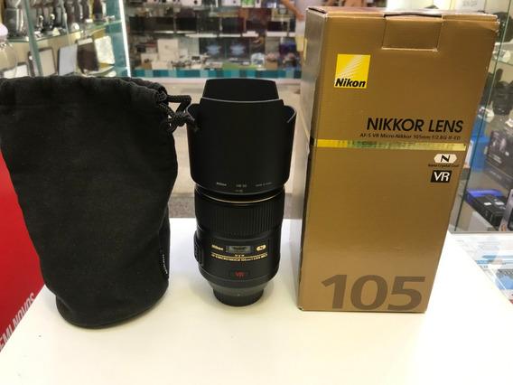 Lente Nikon 105mm F/2.8g If-ed
