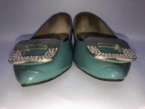 Zapatos Joy&peace Nro 37,5 Color Petróleo Pastel Perfectos