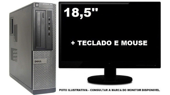 Computador Dell Optiplex 390 Intel I3 4gb 500gb - Semi Novo