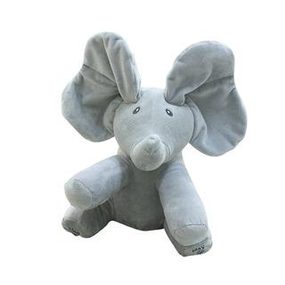 Cucú Elefante Licking Elefante Cucú Conejo Eléctrico Felpa J