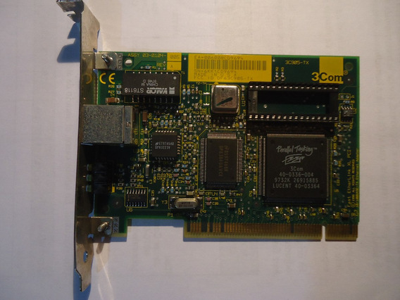 Placa De Red 3com Pci Made In Usa 3c905-tx