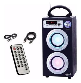 Caixa Som Torre Bluetooth- Bateria/ Usb/ Sd-card/ 30w Sp106
