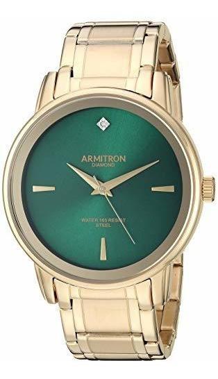Armitron - Reloj De Pulsera Para Hombre, Diseño De Diamantes