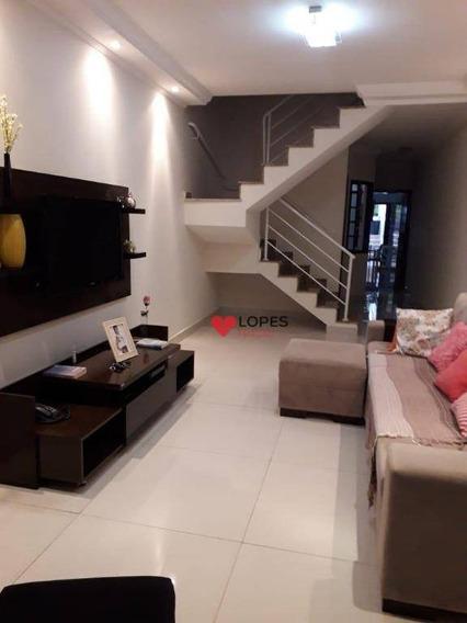 Sobrado Com 3 Dormitórios À Venda, 131 M² Por R$ 585.000,00 - Jardim Popular - São Paulo/sp - So0365