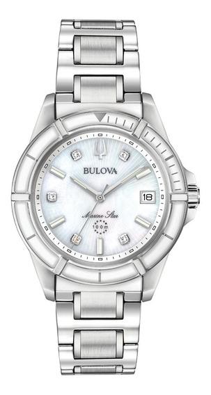 Reloj Bulova 96p201 Marine Star Para Dama Original E-watch