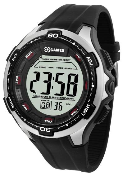 Relógio X-games Masculino Digital Xmppd462 Prata Oferta