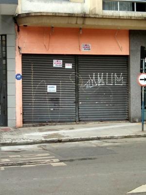 Loja Térrea Com 164,00m2 Rua Francisca Mequelina- Bela Vista. - Md456