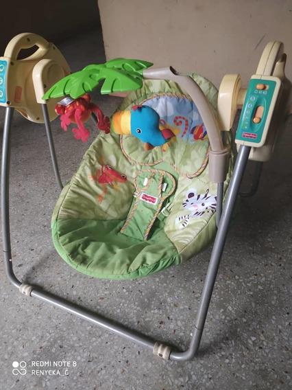 Silla Mecedora Para Bebés. Fisher Price. Buenas Condiciones