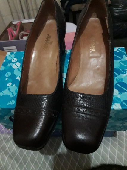 Zapato Ferraro Marron 40