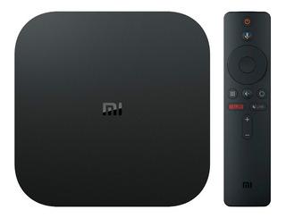 Tv Box Mi S Xiaomi 4k Android Negro