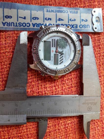 Relógio Antigo Citizen C430 Promaster No Estado Leia Descriç