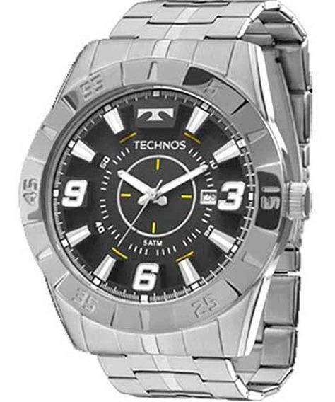 Relógio Technos Masculino Prata 2115kyx/1p