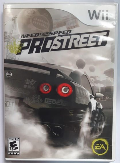 Need For Speed Pro Street Wii Mídia Física
