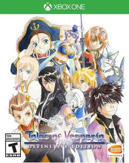 Tales Of Vesperia Definitive Edition Xbox One (en D3 Gamers)