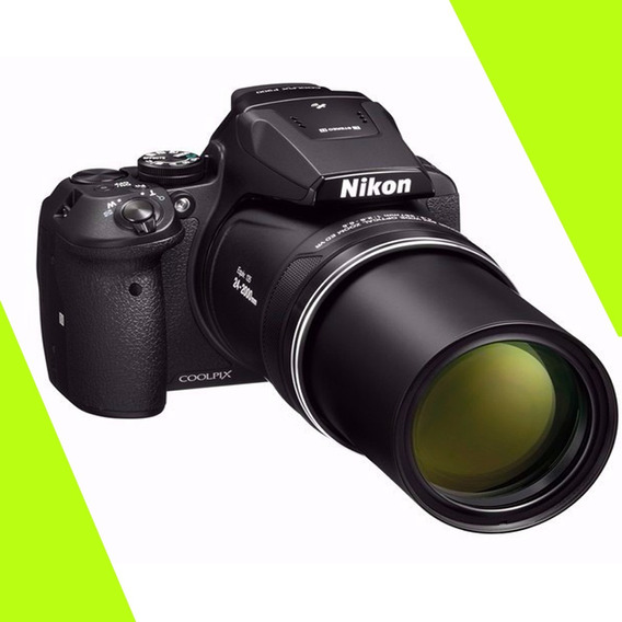 Nikon P900 Power Zoom 83x Vr, 16.mp Gps+wifi