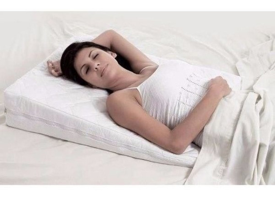 Travesseiro Anti-refluxo Adulto Rampa Berço Cama Grávida D20