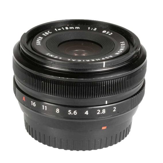 Objetiva Fujifilm Xf 18mm F2 R
