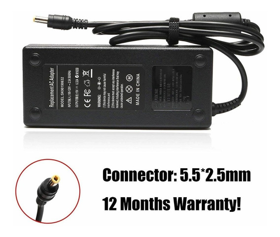 19v 6.3a 120w Ac Adapter Laptop Charger For Asus Gl551j Gl55