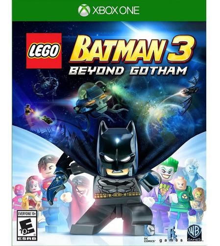 Lego Batman 3 Beyond Gotham Xbox One Fisico Original Sellado