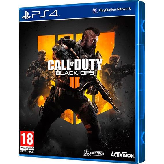 Call Of Duty Black Ops 4 Mídia Física Lacrado Ps4