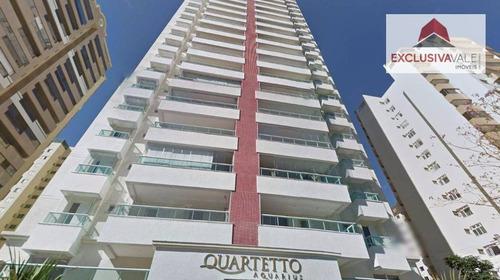 Apartamento À Venda, 120 M² Por R$ 799.000,00 - Jardim Aquarius - São José Dos Campos/sp - Ap1100