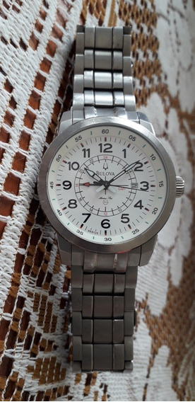 Relógio Bulova Mod: 96b125 Branco/+ Victorinox Preto. Promoç