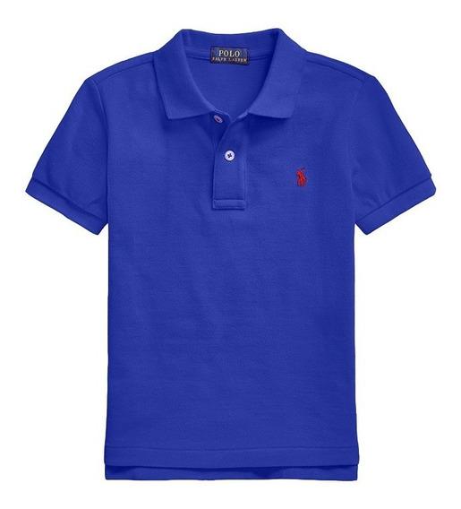 Camisa Polo Masculina Infantil - Menino - Polo Ralph Lauren