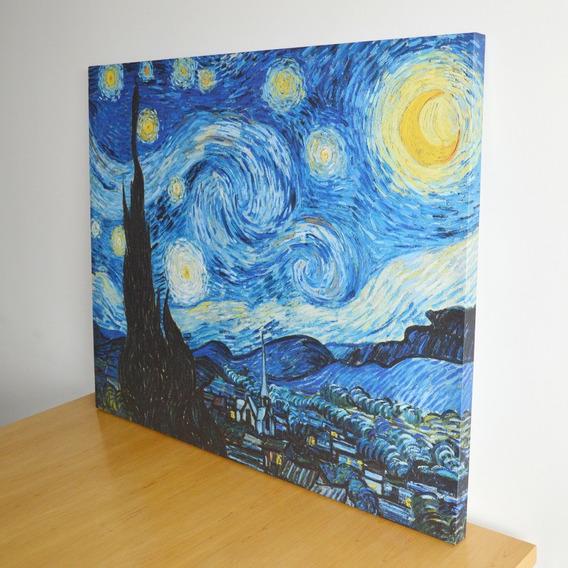 Cuadro Van Gogh La Noche Estrellada 100x80 Canvas