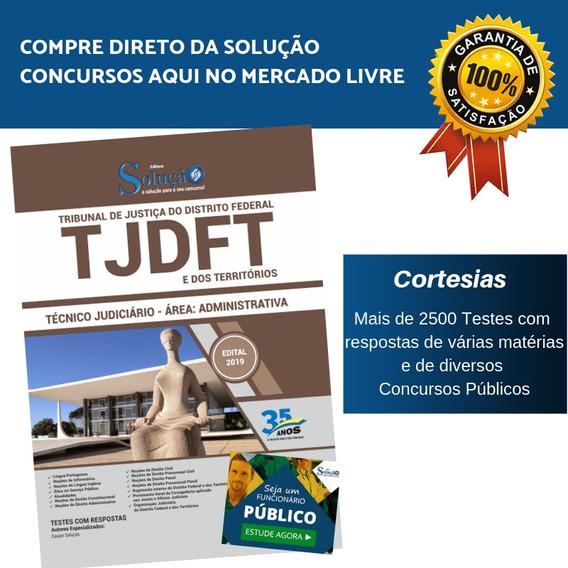 Apostila Tjdft 2019 Tribunal De Justiça Do Distrito Federal