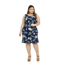 2081f04c1a O Verão Vestido Estampado Fresquinho - Vestidos Femininos Casuais no ...
