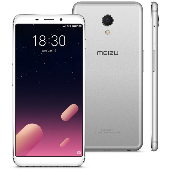 Smartphone Meizu M6s Prata, Tela 5,7, 64gb, Proc. Exynos