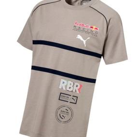 Camiseta Red Bull Speedcat Evo Tee Areia Puma