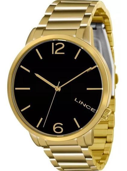 Relógio Lince Lrgj043l P2kx Feminino Dourado Lindo E Barato