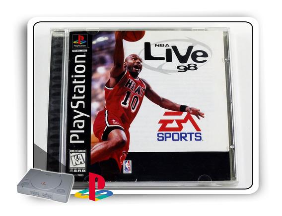 Nba Live 98 Original Playstation 1 Ps1