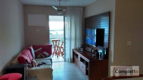 Apartamento Residencial À Venda, Camorim. - Ap0107