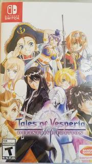 Tales Of Vesperia Definitive Edition Nintendo Switch