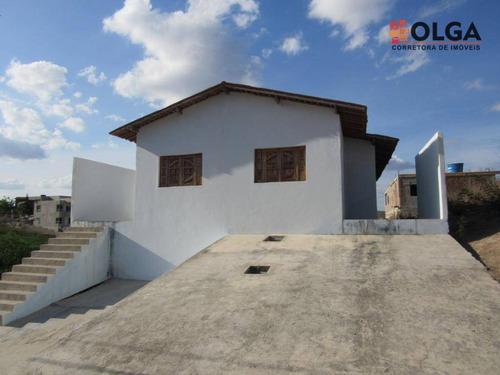 Casa Com 2 Quartos, Por R$ 110.000 - Gravatá/pe - Ca0466