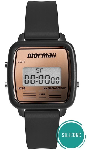 Relógio Mormaii Feminino Vintage Mojh02bb/8j Preto Digital