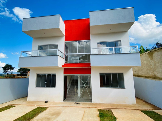 Apartamento À Venda No Centro De São Joaquim De Bicas. Área Privativa. - Ibl1109