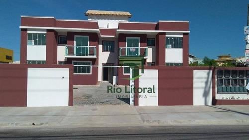 Imagem 1 de 24 de Cobertura À Venda, 65 M² Por R$ 280.000,00 - Jardim Mariléa - Rio Das Ostras/rj - Co0030