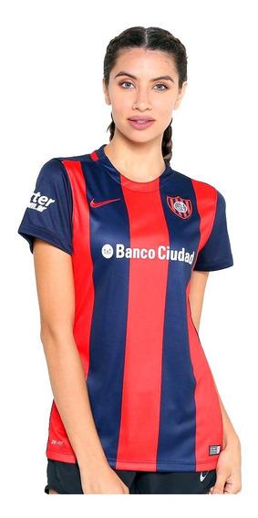Camiseta Nike Original San Lorenzo Dama Mujer Unico Modelo