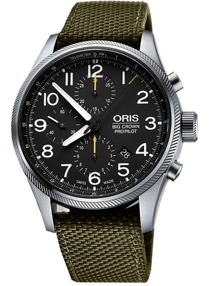 Nuevo!! Reloj Oris Big Crown Propilot Cronógrafo 77476994134