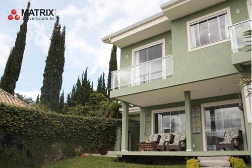 Casa Com 4 Dormitórios À Venda, 280 M² Por R$ 1.280.000,00 - Atuba - Curitiba/pr - Ca0790