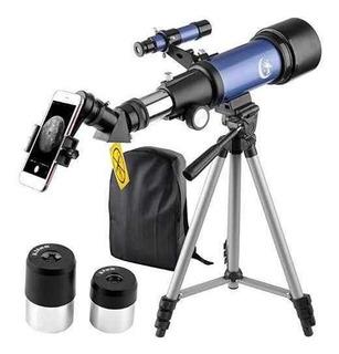 Telescopio Mm Apeture Mm Az Refractor Scope Blue Trave ®