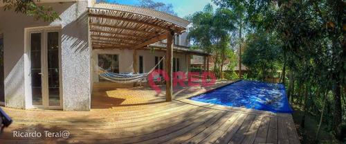 Imagem 1 de 30 de Esplendida Casa No Condomínio Veleiros De Ibiuna - Ca0645