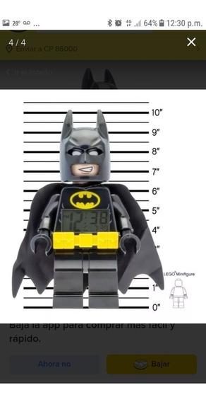 Reloj Lego Batman Digital Lego Despertador Con Luz