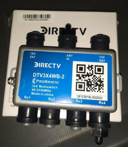 Multi Switch Directv Aspen 3x4 Salidas