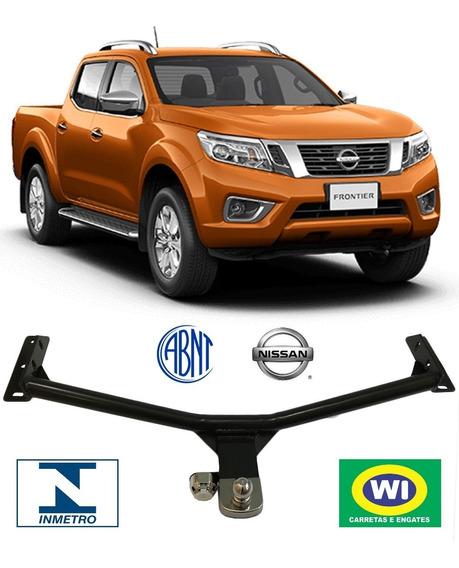 Engate Reboque Nissan Frontier 2008-2018 Wi Engates 1000 Kg
