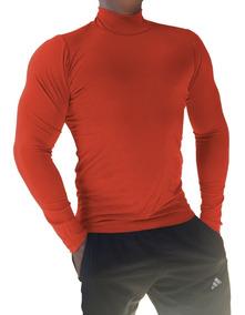 Kit 05 Blusas Masculina Confortável Gola Alta Manga Longa